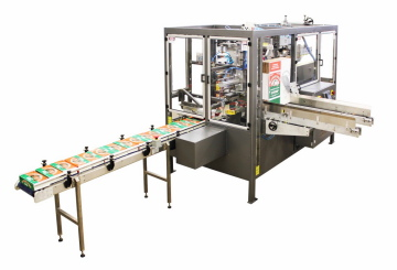 The Eagle Packaging Machinery Boxxer case erector-loader-sealer system.