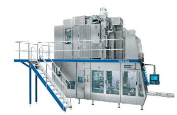 The Tetra Pak A3/Speed filling machine.