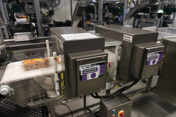 The La Petite Bretonne packaging line employs the power and accuracy of a pair of Phantom metal detection units, manufactured by Fortress Technology, as part of its stringent food safety assurance protocols.