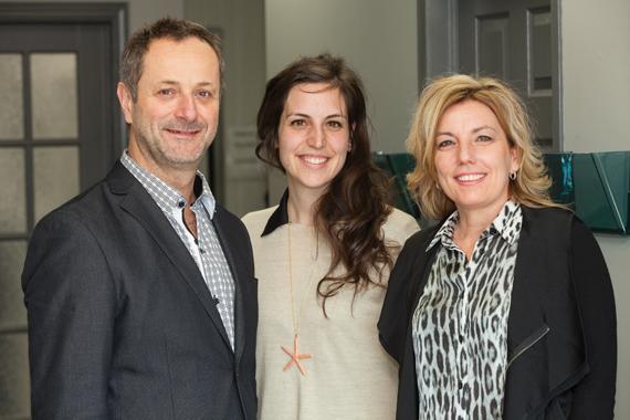 (From left) Gaétan Rhéaume, Co-owner, Boucherie Gaétan Rhéaume Inc.; Audrey Rhéaume, Head of Sales & Development; Manon Rhéaume, Co-owner.