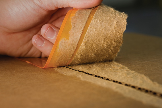 roviding 10 times the bonding strength of traditional box sealing tapes, 3M's Scotch Recycled Corrugate Box Sealing Tape 3071 was developed specifically to ensure secure sealing of recycled corrugated cases by actually penetrating beneath the box surface.