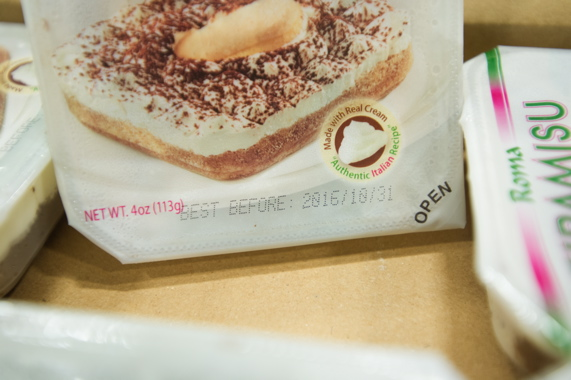 Originally developed for the U.S. private-label market, the Tiramisu refrigerated cakes have their best-before dates applied by one of two high-speed BestCode inkjet coders (see below) supplied to the bakery by Weber Marking Systems.