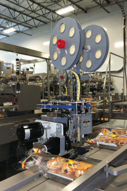 One of eight Kwik Lok clip closure systems used by La Petite Bretonne for sealing its bagged products.
