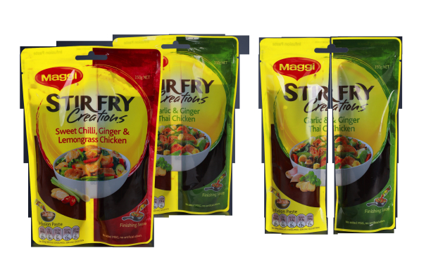 5 Separable Pouch for Multiple Marinades Simplifies Home Cooking