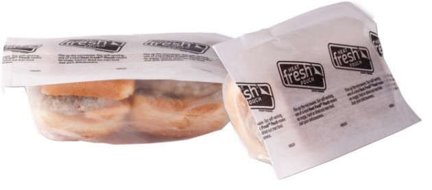 Microwaveable Sandwich Pouch Keeps Bread Moist During Heating
