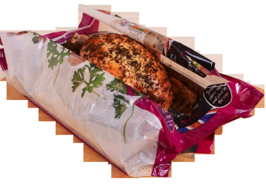 Roast-In-The-Bag Chicken Package Minimizes Safety Risks, Maximizes Consumer Convenience