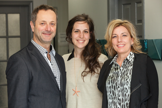 (From left) Gaétan Rhéaume, Co-owner, Boucherie Gaétan Rhéaume Inc.; Audrey Rhéaume, Head of Sales & Development; Manon Rhéaume, Co-owner.