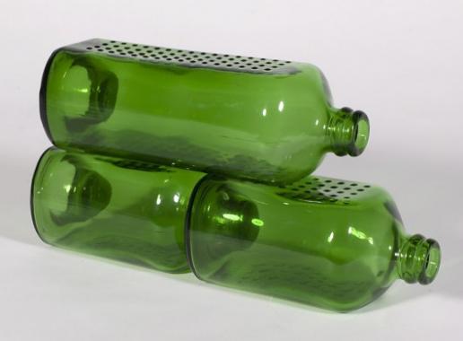 Heineken brick beer bottles