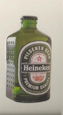 Heineken brick bottle