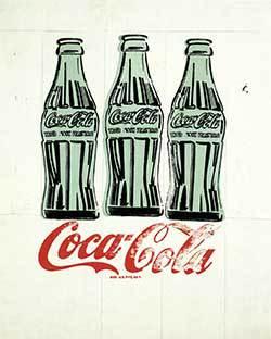 Andy Warhol Coke Painting