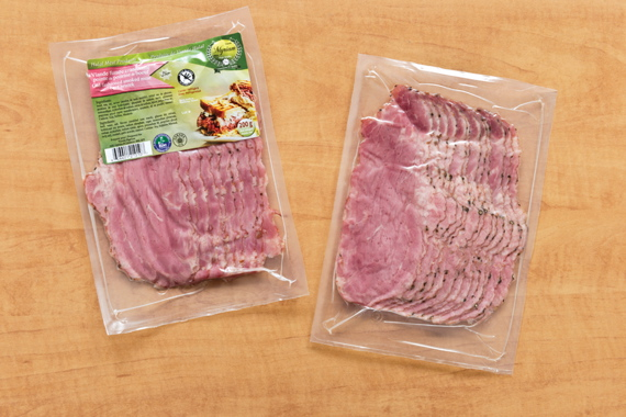 Edelweiss processes and packs the Old Fashioned Smoked Meat Beef Brisket slice sold under the Myriam brand label.