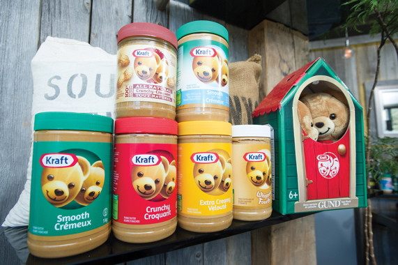 The increased prominence of the brand's twin bear mascots has enabled Kraft Peanut Butter to reignite the product's endearing love affair with Canadian consumers.