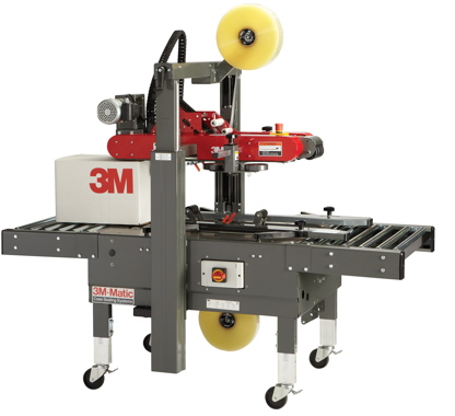3M Company's box-sealing systems like this fully-automatic 3M-Matic Case Sealer 7000a Pro are a common sight on secondary packaging lines all over the world.