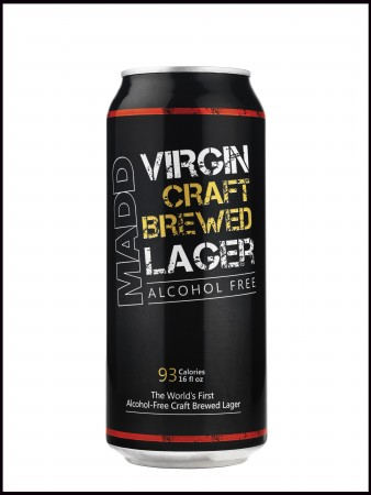 MADD Virgin Craft Brewed Lager  - New - June 10