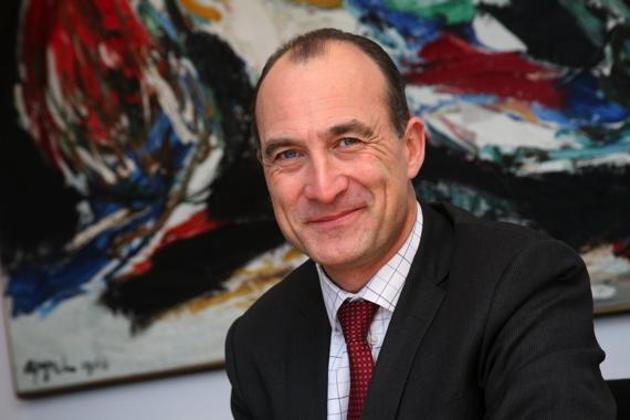 Flint Group chief executive officer Antoine Fady.