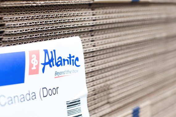 Toronto-based Atlantic Packaging Products supplies the lion's share of the Rexdale plant's corrugated packaging.