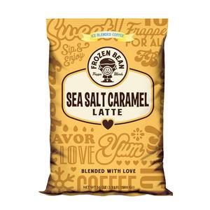 The Frozen Bean Sea Salt Caramel Latte