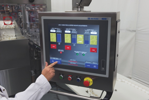 The Street Fighter uses the latest PLC (programmable logic controller) programming to ensure optimal process control.