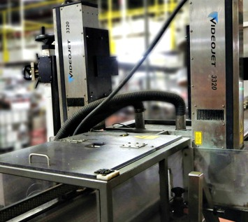 Manufactured by Videojet Technologies, the Videojet 3320 laser coder used to generate permanent product codes on the filled cases of Coca-Cola brand cans at the Weston facility is a high-speed system capable of printing speeds of up to 1,300 characters per second.