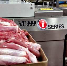 The Elite Meat Company plant's new iSeries thermoformer from VC999 enables the company to achieve extended shelf-life for its premium-quality pork tenderloin portions.