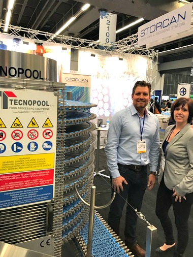 Storcan displays its Technopool - Canadian Packaging