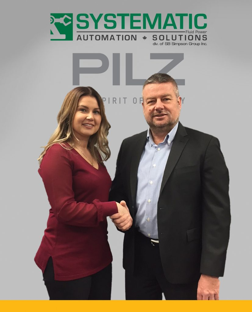 Pilz Appoints Systematic Fluid Power As New Distributor
